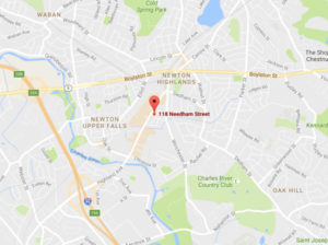 118 Needham Street, Newton, MA map